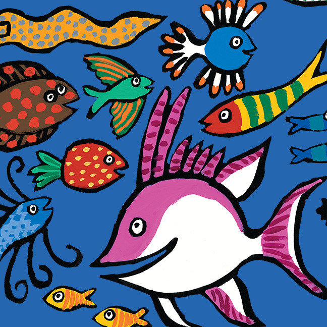 How Many Different Fish Can You See?