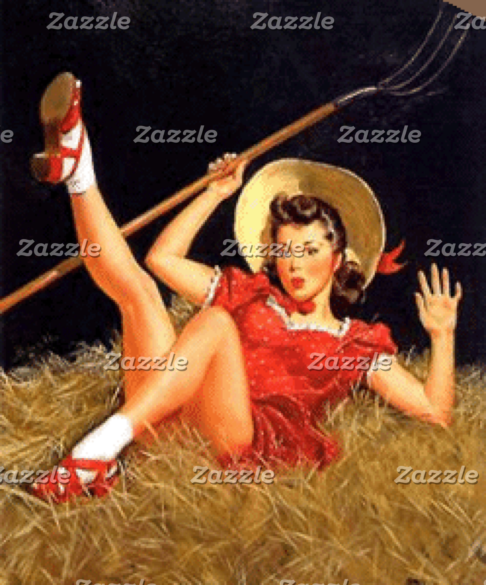 Country Pin-Up
