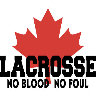 Canada Lacrosse Canadian Lacrosse T-Shirt Gift