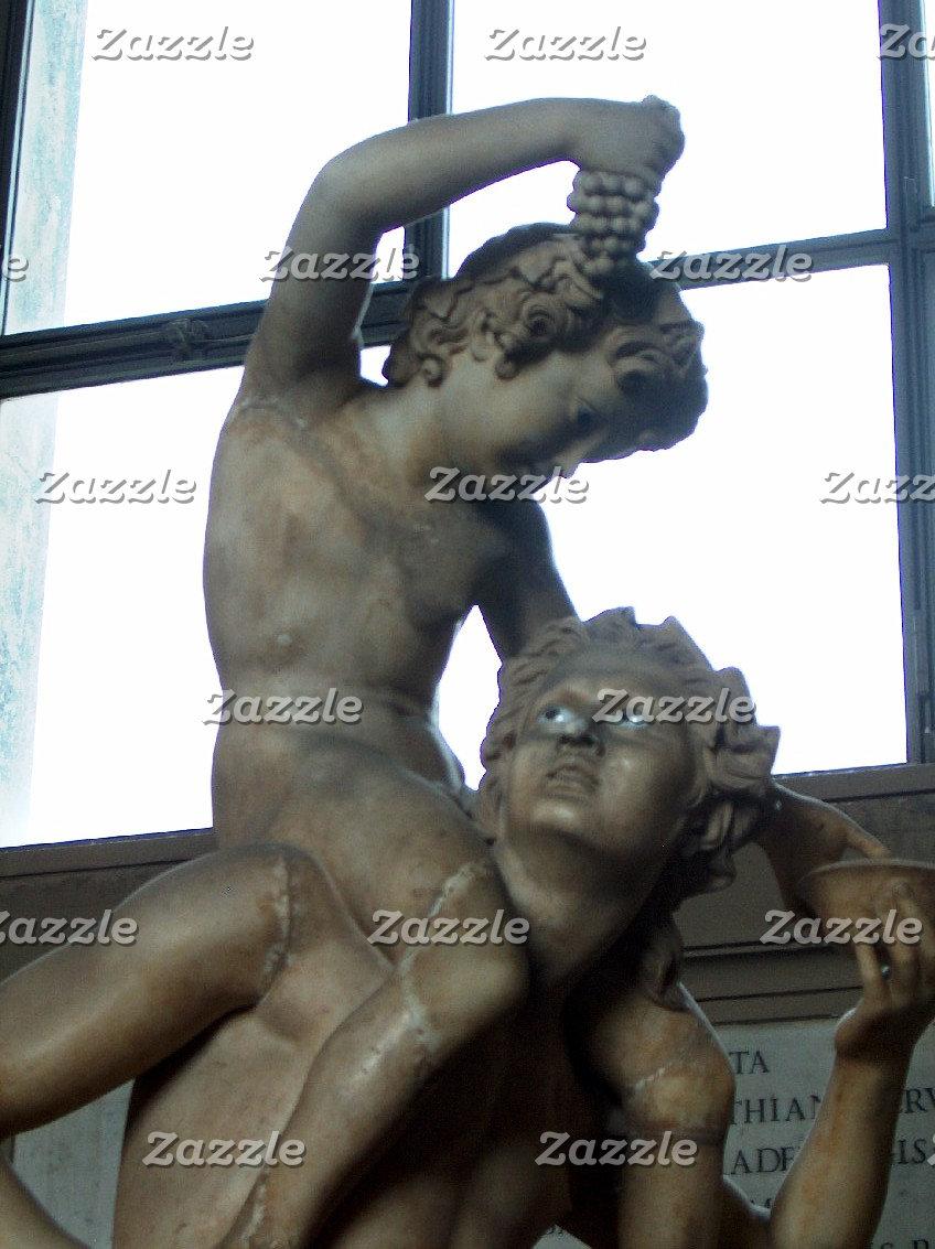 Bacchus Statue in Rome