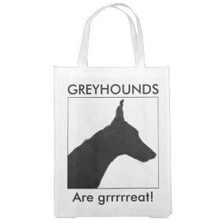Greyhound reusable bags