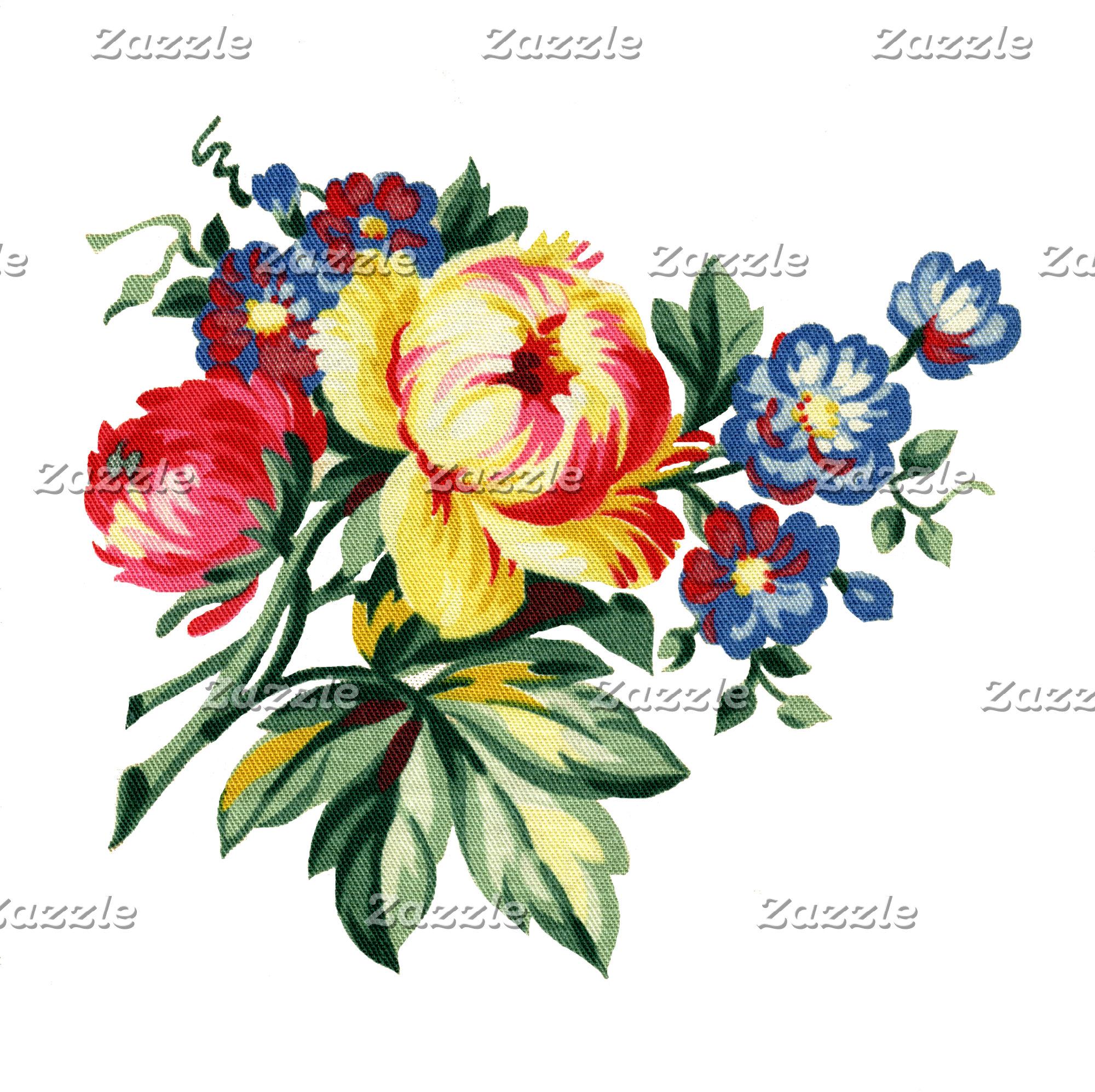 Vintage Garden/Floral