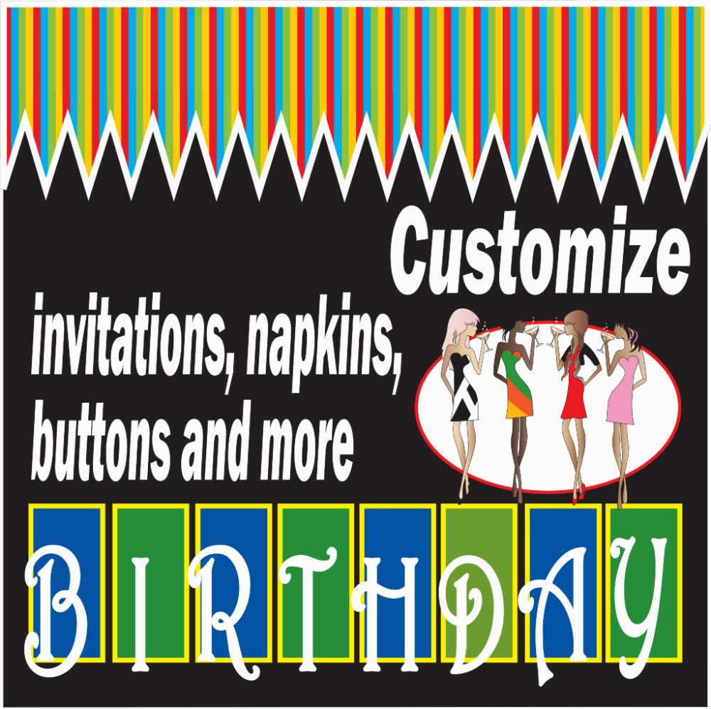***Customize Birthday