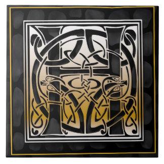 A-Z Celtic Black Stone Tiles