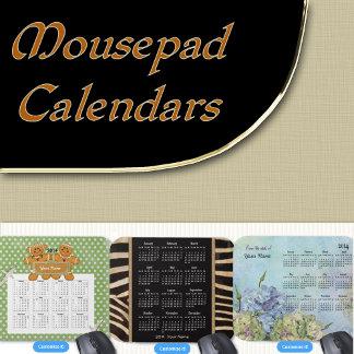 6. 2016 MousePad CALENDARS