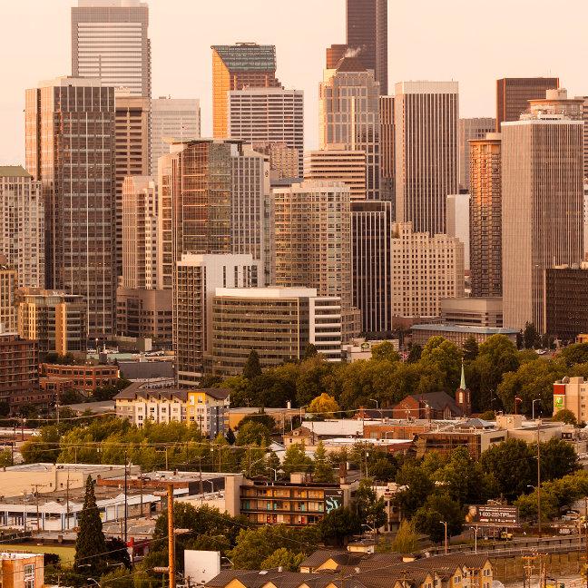 Downtown, Seattle, Washington, USA