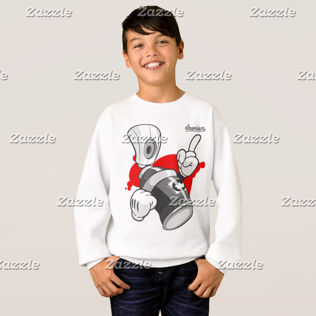 Kids Graffiti Streetwear Sweatshirts
