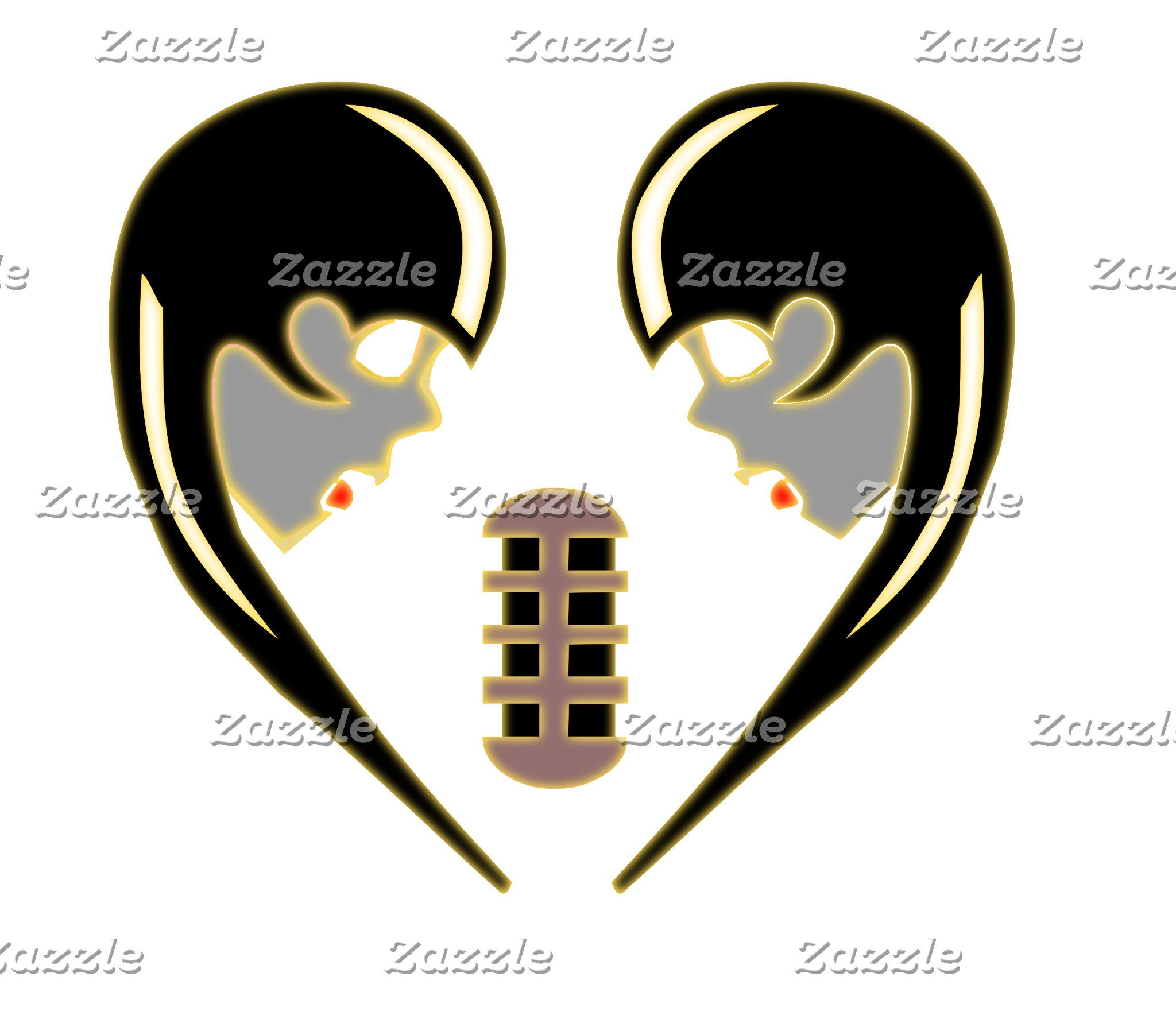 Zombie Karaoke Queens Love Heart