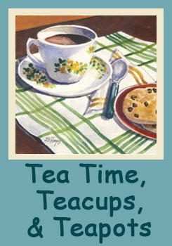 Tea Time Teacups & Teapots