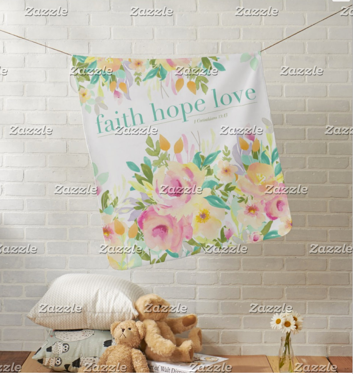 Sweet Floral | Faith Hope & Love Collection