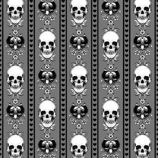 Baroque Skull Pattern