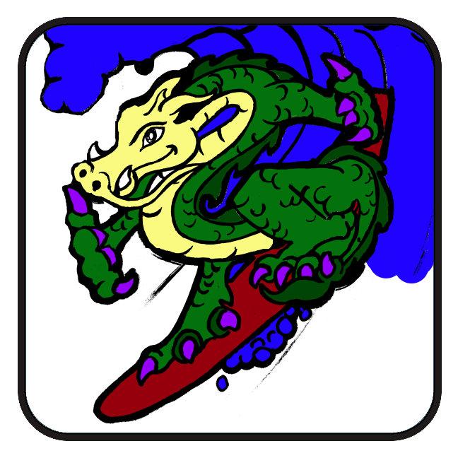 Surfing Dragon
