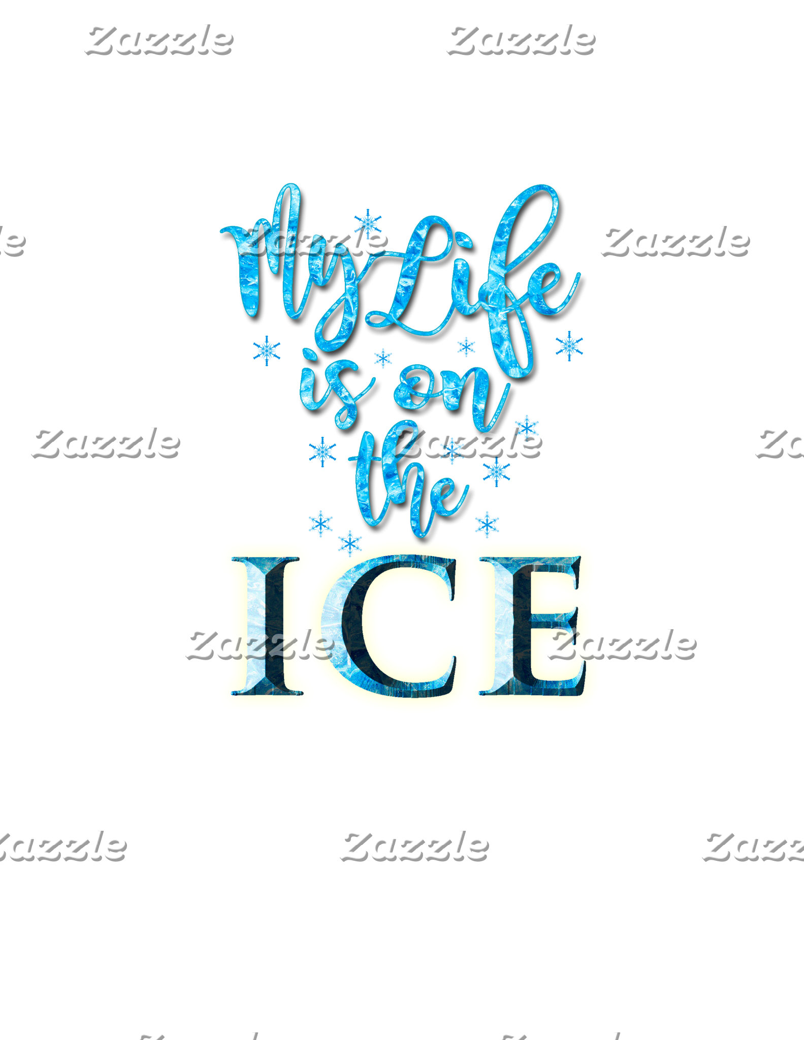 My Life Is On The Ice NEW