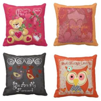 Valentine Pillows