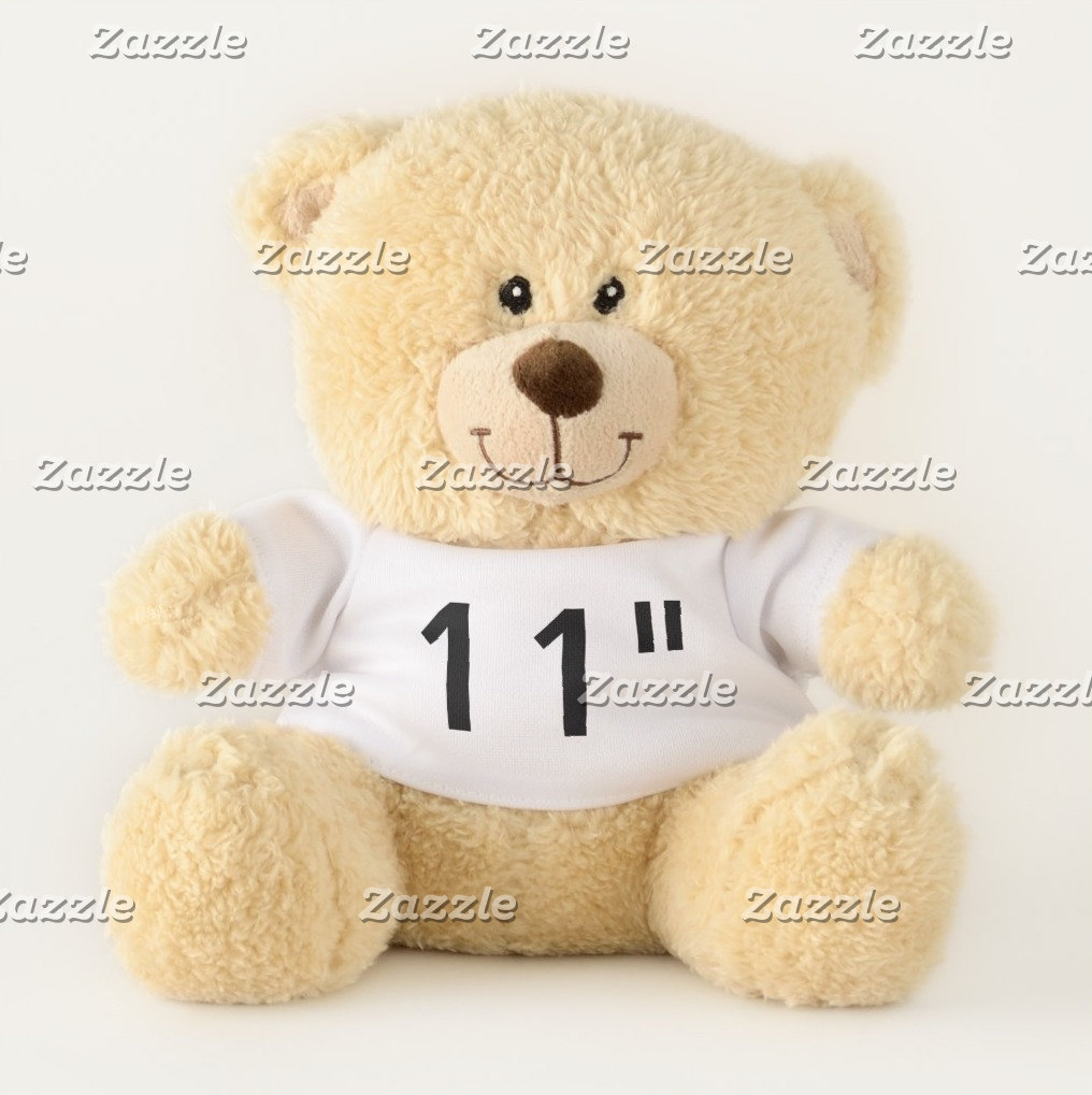 """11"""" Teddy Bears - Favorite Quirky Font Examples"""