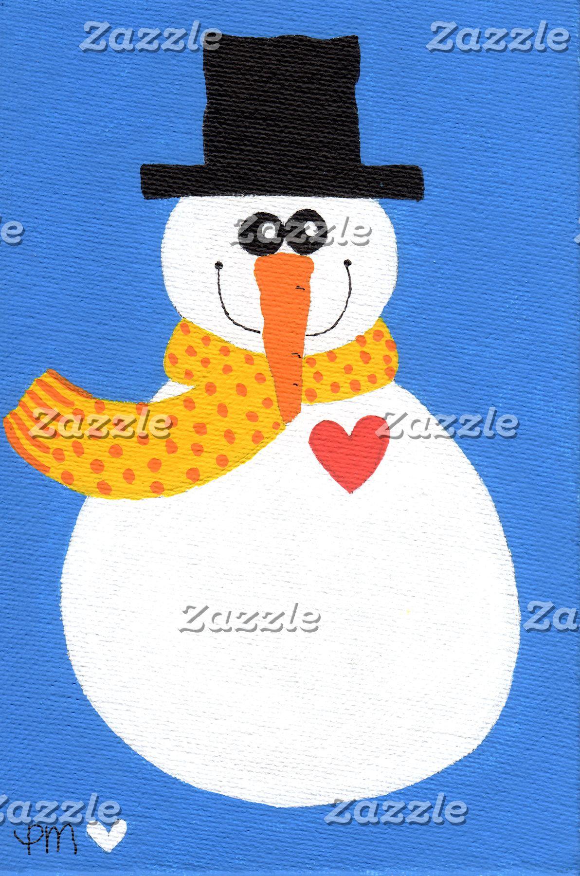 Heartfelt Snowman
