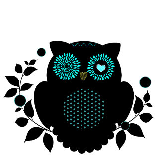 Owl Silhouette Office Collection