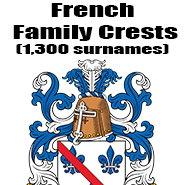French Family Crests