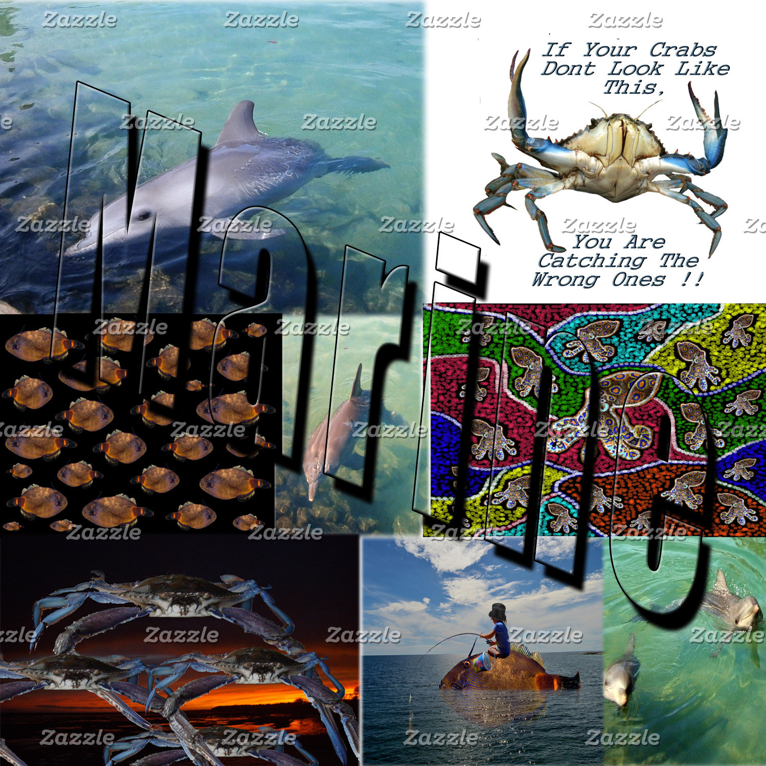 Fishing,-Fish,-Sea life,-Products.