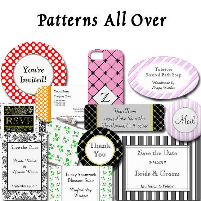 Patterns All Over Custom Designs