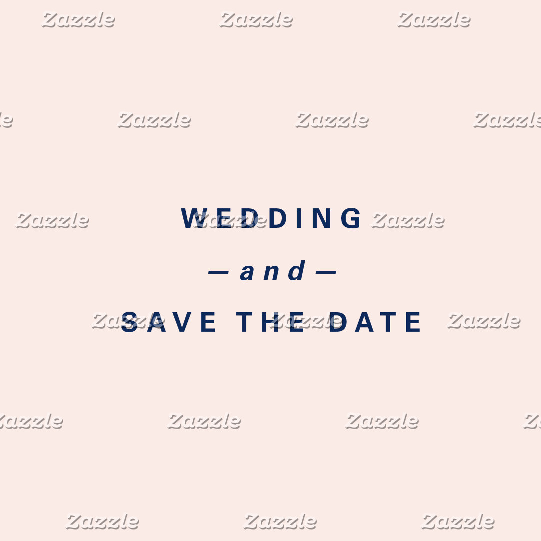 Wedding and Save the Date