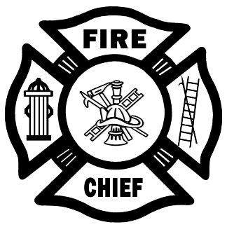 Fire Chief Maltese Cross
