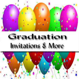 Graduation Inviatations and Party Supplies
