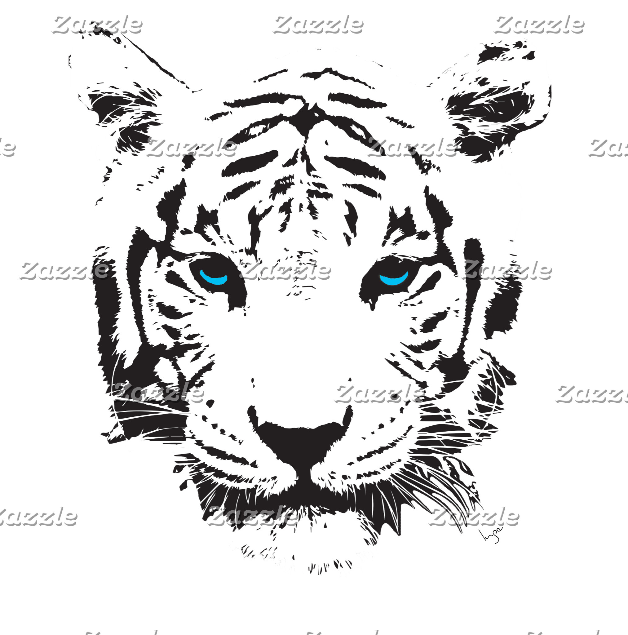 Tigers and Elephants Digital Art