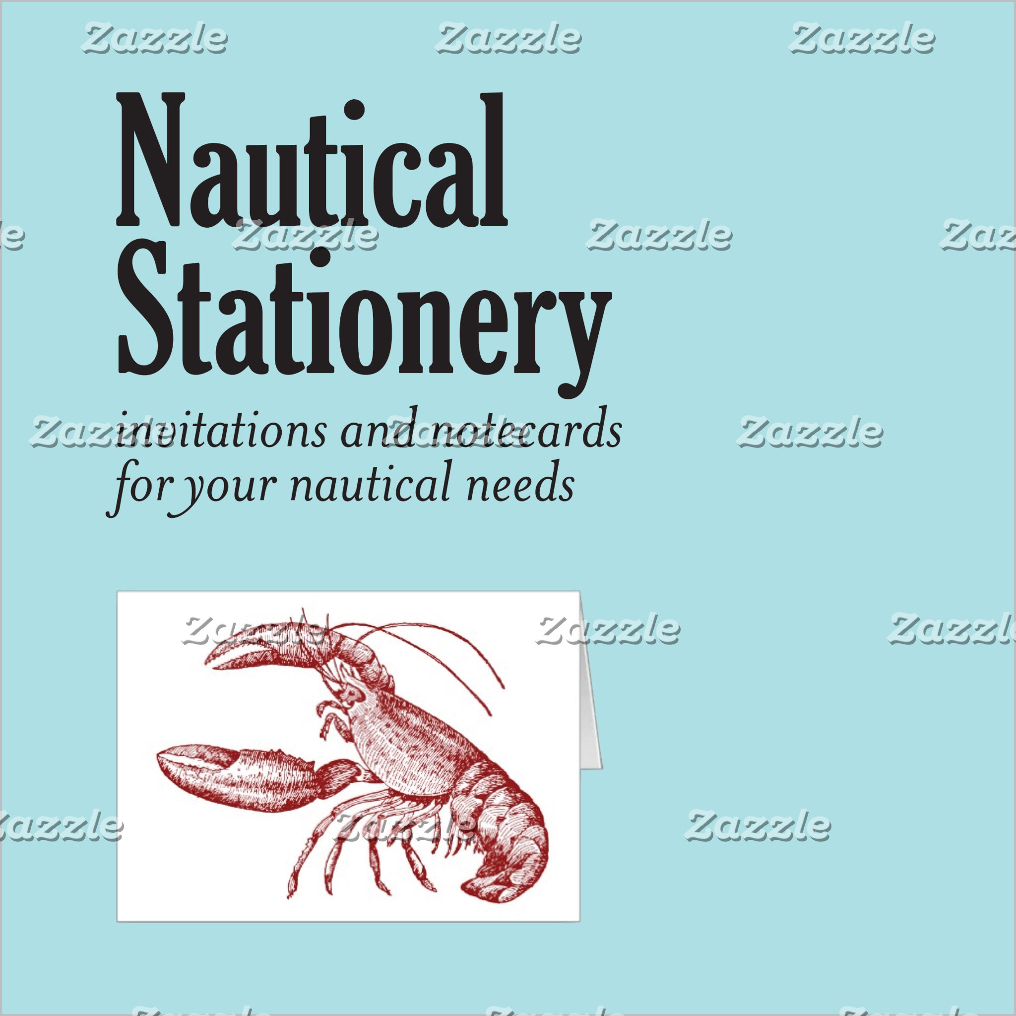 Nautical Stationery