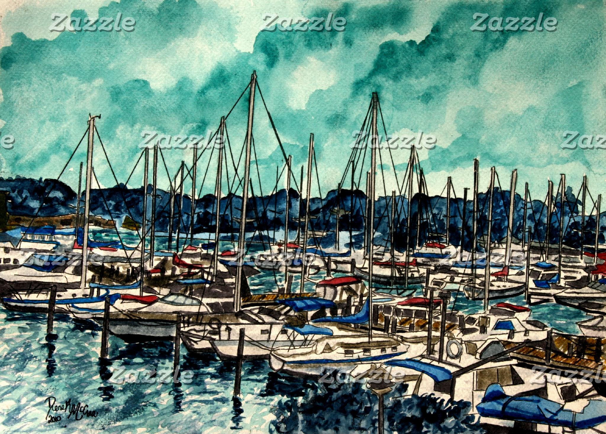 Sailboats nautical art gifts and prints