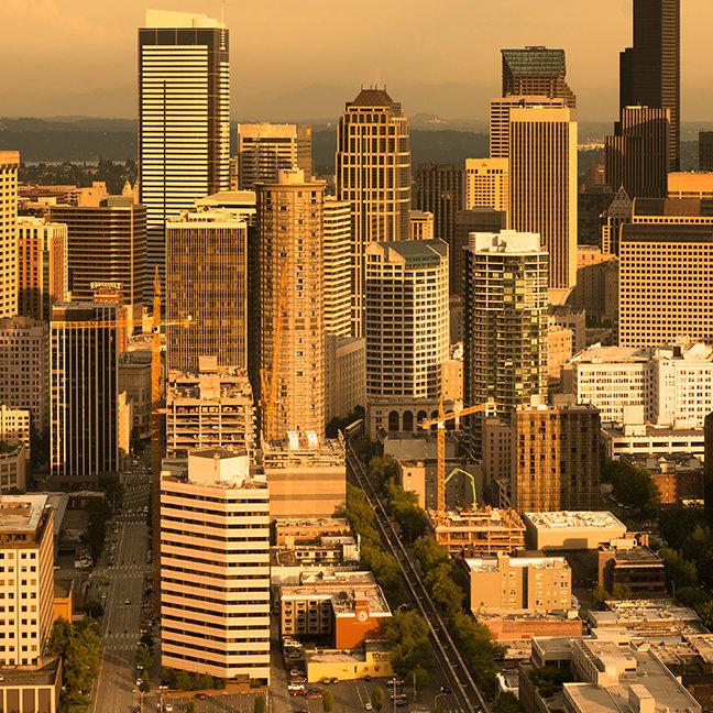Downtown Seattle, Washington, USA