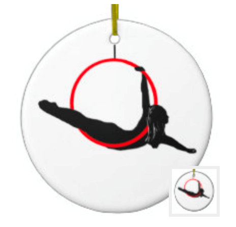 Aerial Dance Ornaments