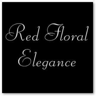 Red Floral Elegance