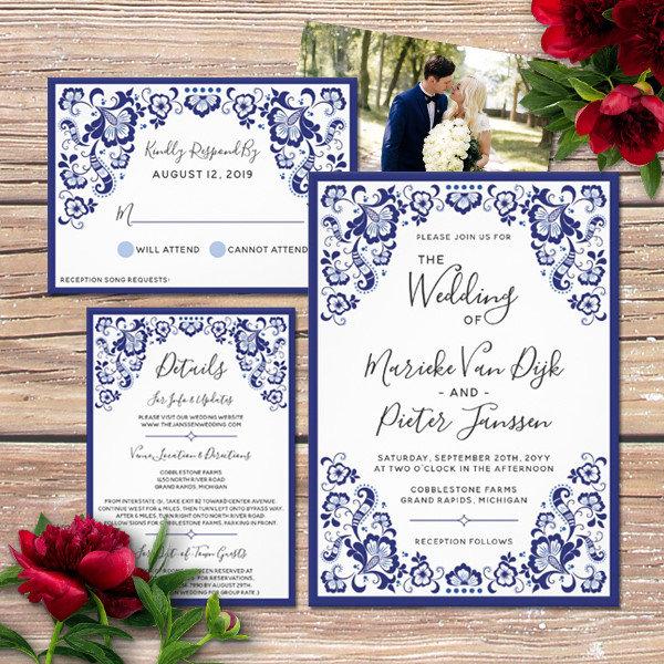 Delfts Blauw Wedding Collection