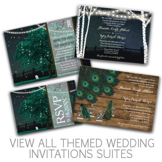 * Wedding Invitations, RSVPs and More - Suites