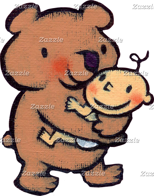 Big Brown Bear Hug