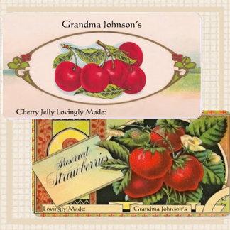 Vintage Canning Labels