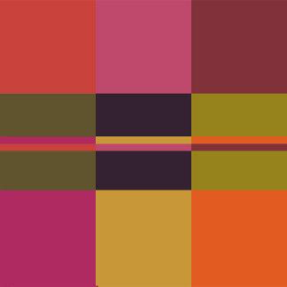 Current Palette Check Plaid Design