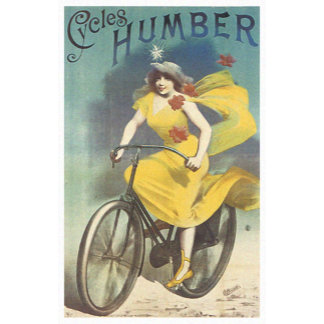 Vintage Bicycles Ad