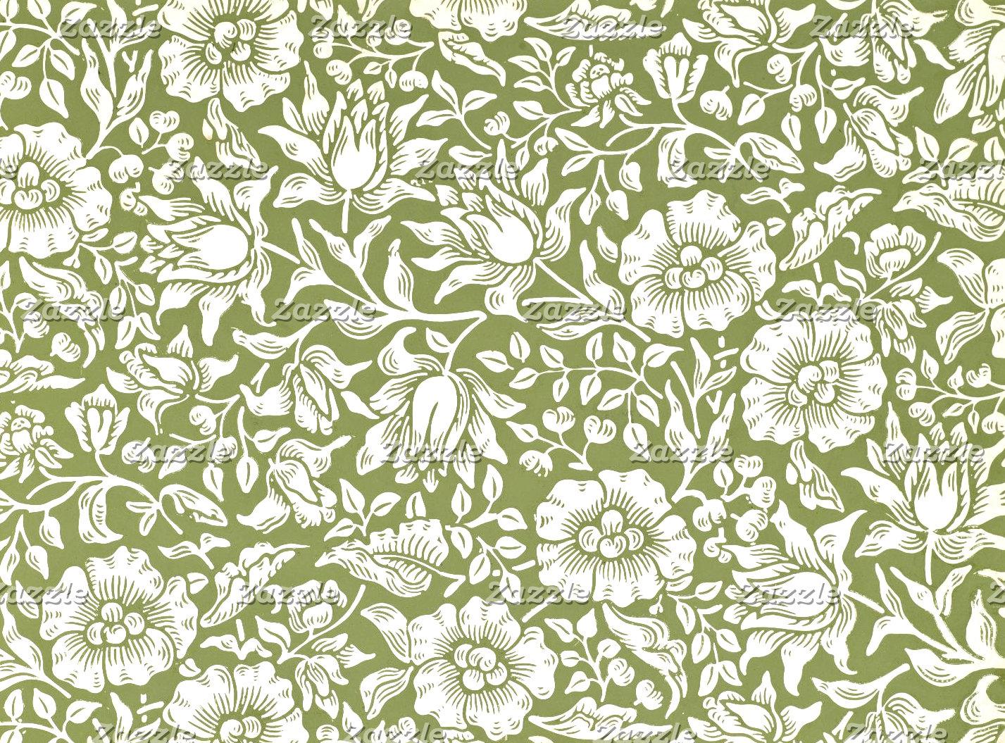 William Morris Mallow Green