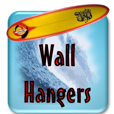 New 3 Foot Surfboard  Wall Hangers