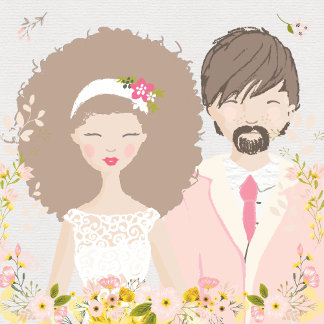 Wedding Couple Portrait Tailor Made