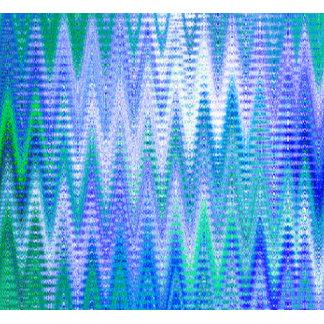 Blue Chevron Pattern