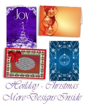 Christmas Cards Contemporary