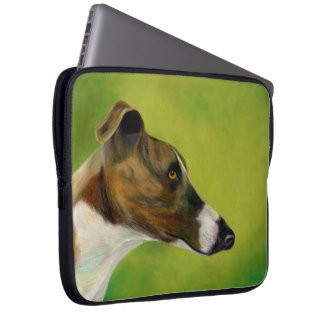 Greyhound laptop sleeves