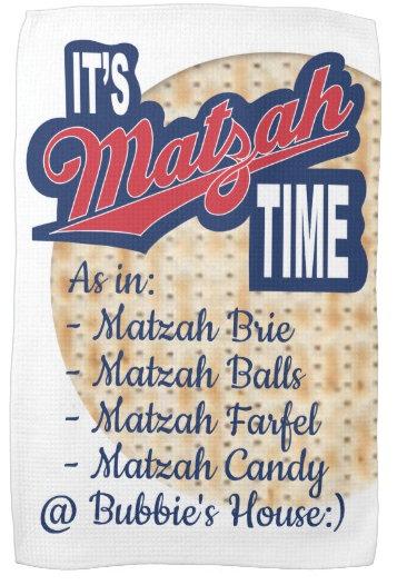 Passover Kitchen Towels & Clocks