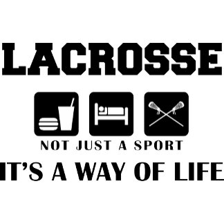 Eat Sleep Play Lacrosse T-Shirt Gifts