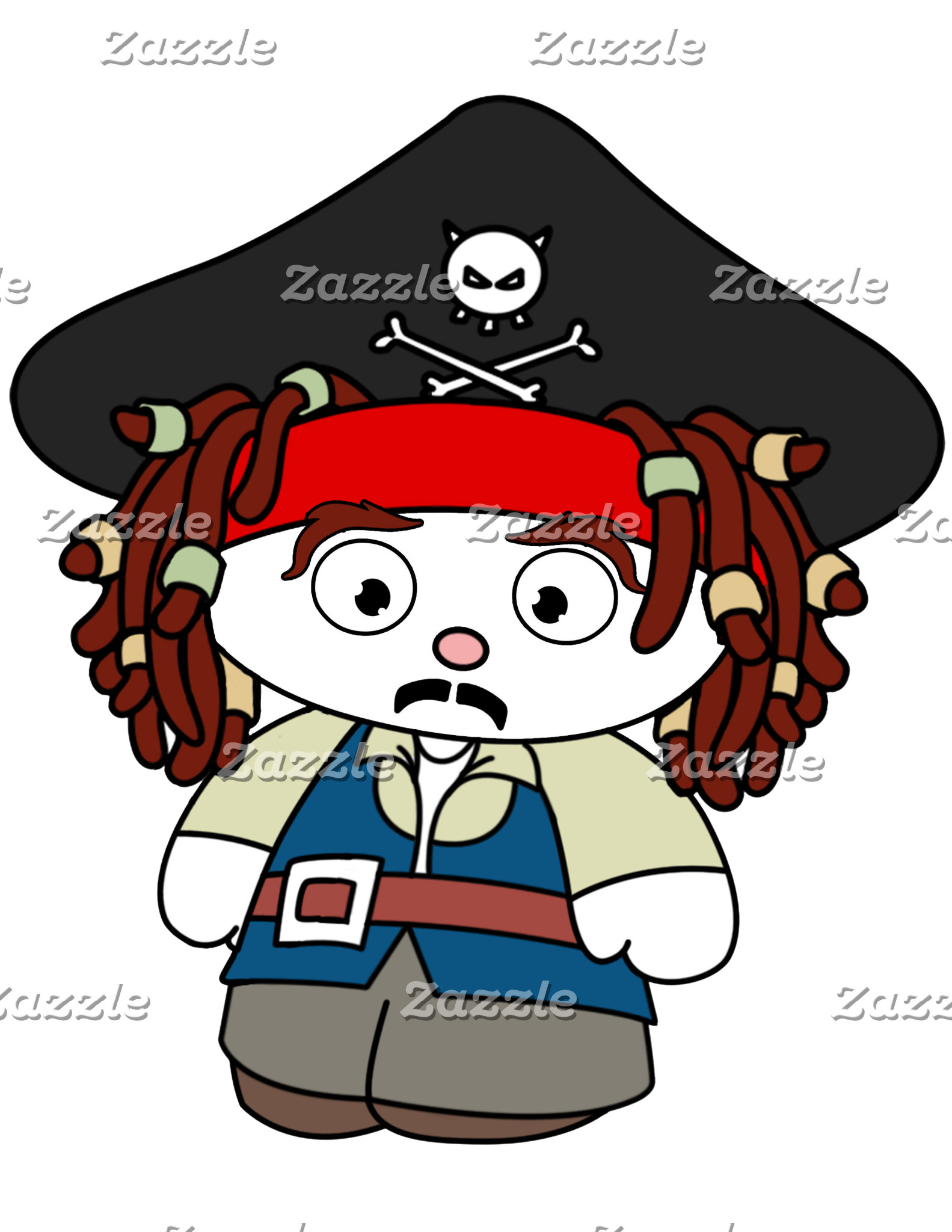 Cartoon - Pirate