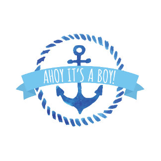 Ahoy It's A Boy