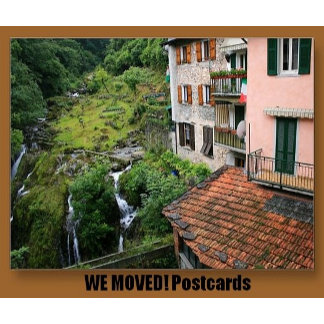 We Moved! Postcards